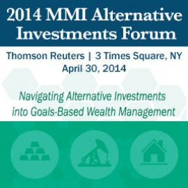 Navigating Alternative Investments into Goals-Based Wealth Management